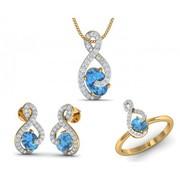 Shop Designer pendant sets online at Jewelslane