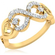 Xclusiveoffer  Superb Engagement Gold Diamond Rings For Women 22k