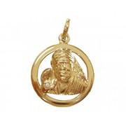 Shop Beautiful Sai Baba Diamond Pendant Online at Jewelslane