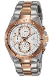 Fashionothon Titan Octane Grey Dial Chronographue Men's Watch 9308KM01