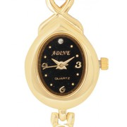 xclusiveoffer Adine Black Dial Pristine Analogue Watch With A Circular