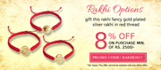 Exclusive Discounts on Gold Rakhi This Raksha Bandhan at Jewelslane