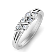#14KT #WHITE #GOLD #REAL #NATURAL #BRILLIANT #CUT #DIAMOND #RING