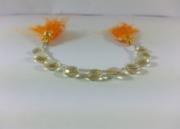 100% Natural Honey Quartz Heart Beads | Honey Faceted Briolettes Bead