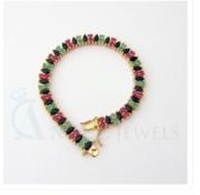 Design jewellery Emerald bracelets