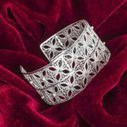 Buy silver bracelet online in India