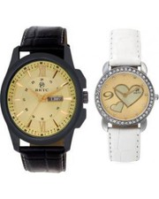 Buy Couple watches for Men at Best Prices in India