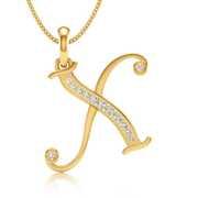 Diamond alphabet pendants online