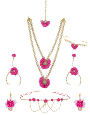Check out the wide range Artificial Flower Jewellery for Bride