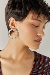 Exclusive Statement Earrings from GossBabe