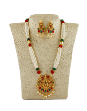 Buy Latest Necklace Design Collection from the House of Anuradha Art J