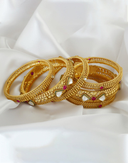Buy An Exclusive Collection of Thread Bangles at Best Price