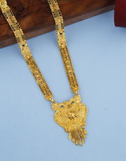 Get Latest Long Mangalsutra Designs at Best Price from Anuradha Art Je